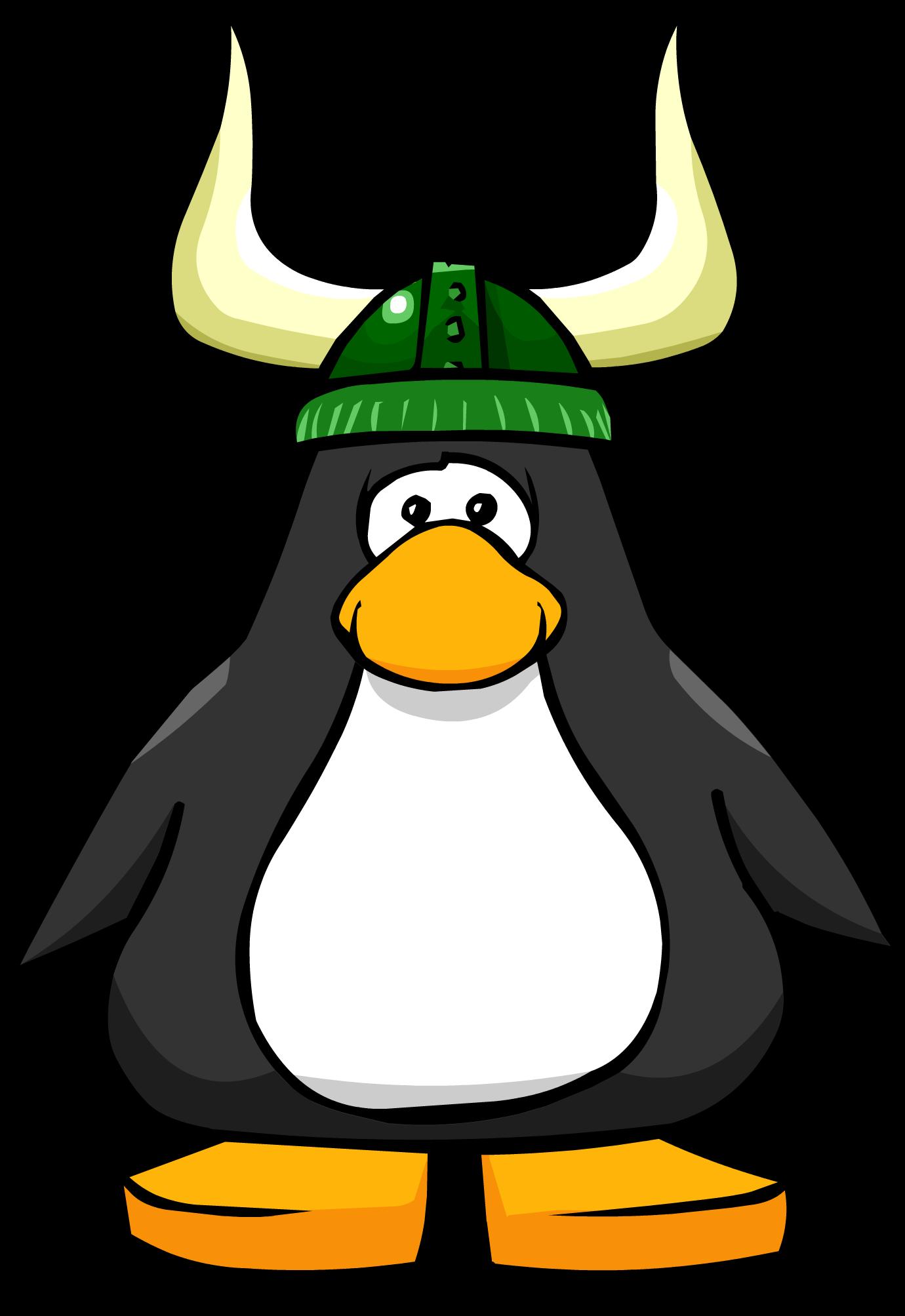 Green Viking Helmet