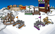 Medieval Party 2019 Snow Forts