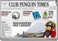 Club Penguin Times Issue 166