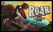 Prehistoric Party Login Screen