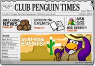 Club Penguin Times Issue 110
