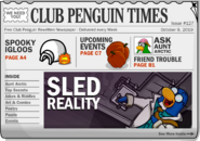 Club Penguin Times Issue 127