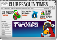 Club Penguin Times Issue 181