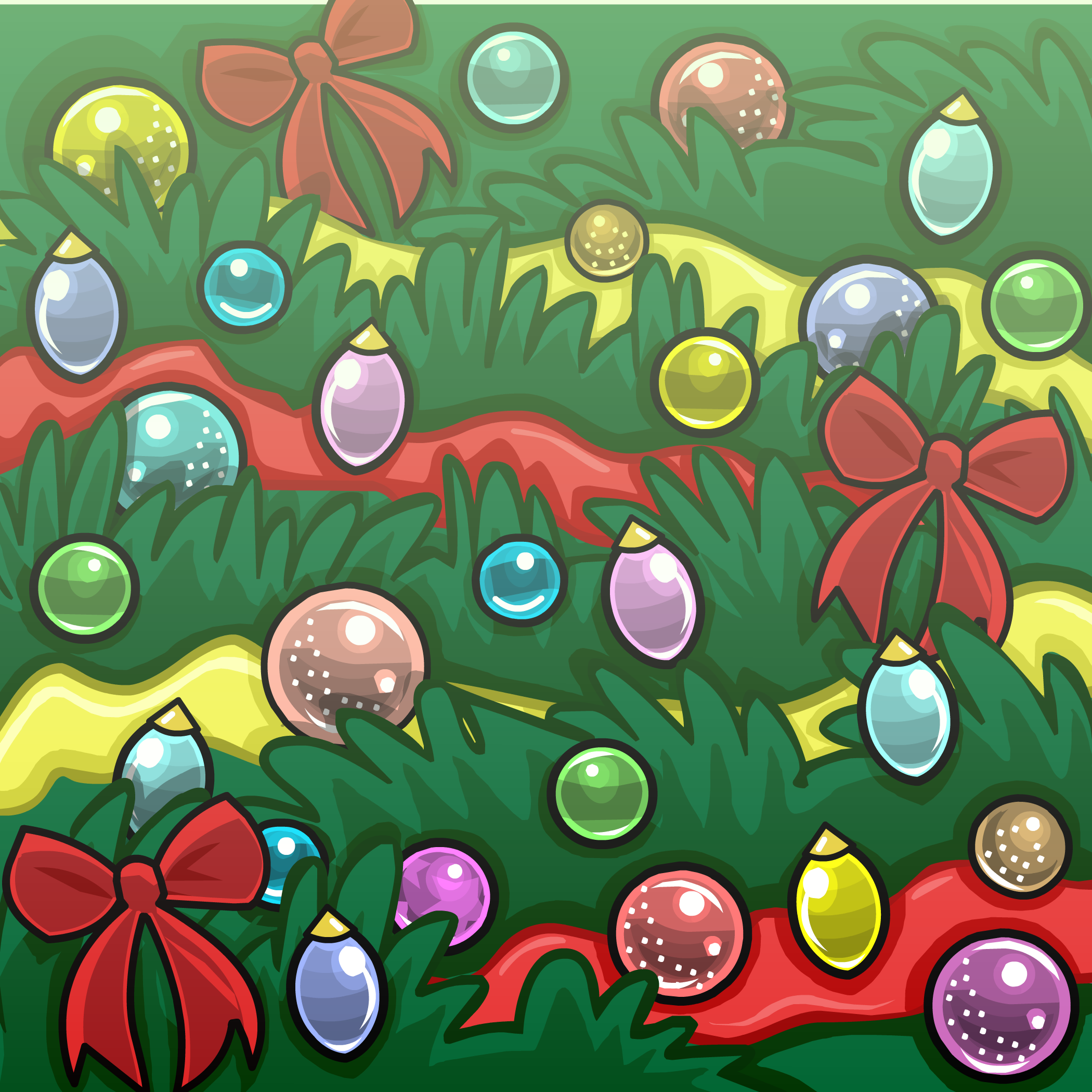 Holiday Tree Background