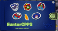 HunterCPPS Stamp book