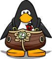 Migrator Mascot Body from a Player Card