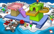 Puffle Party 2018 Dock