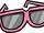 Light Pink Giant Sunglasses