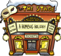 A Humbug Holiday Exterior