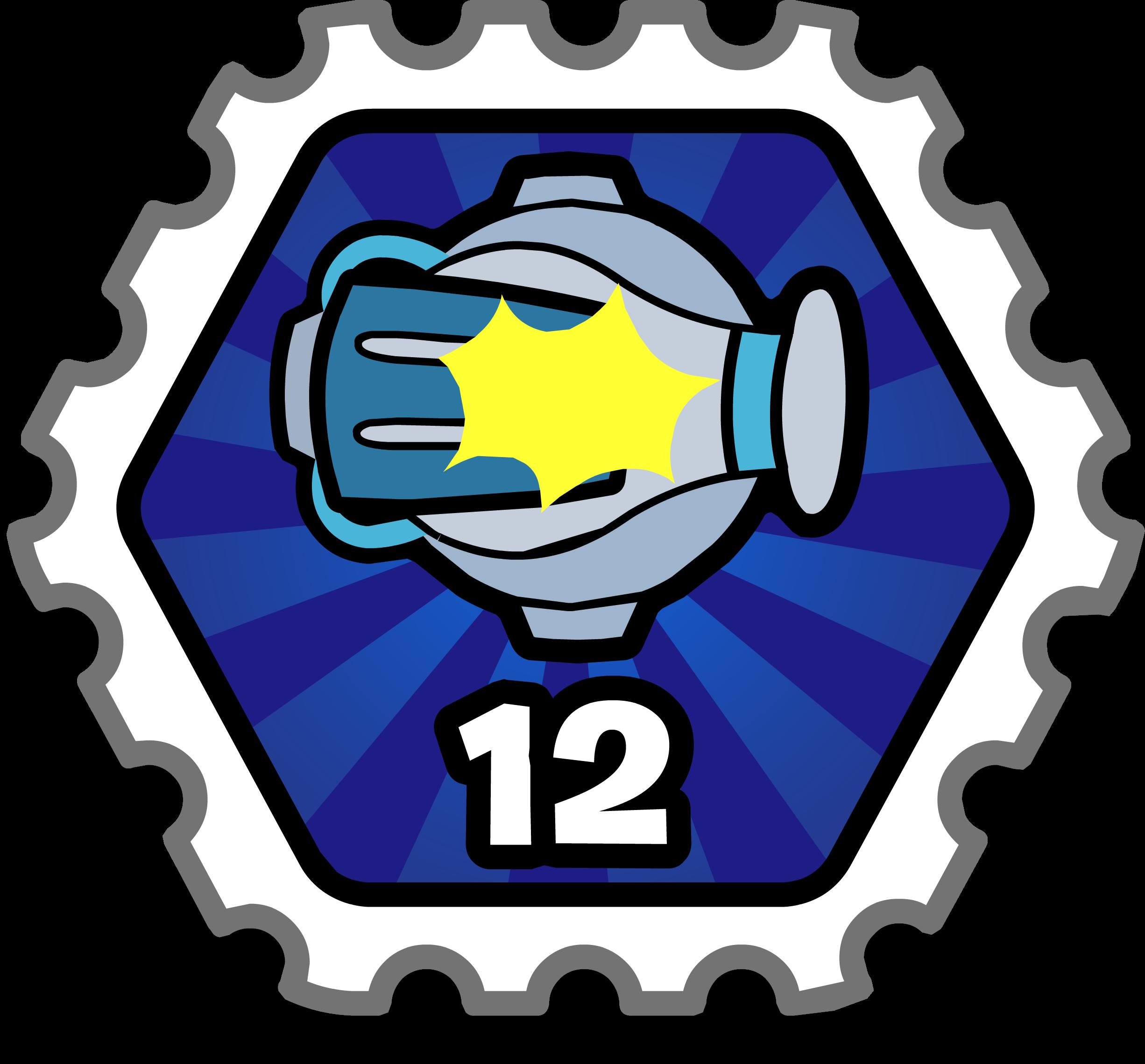 Super Cannon Stamp