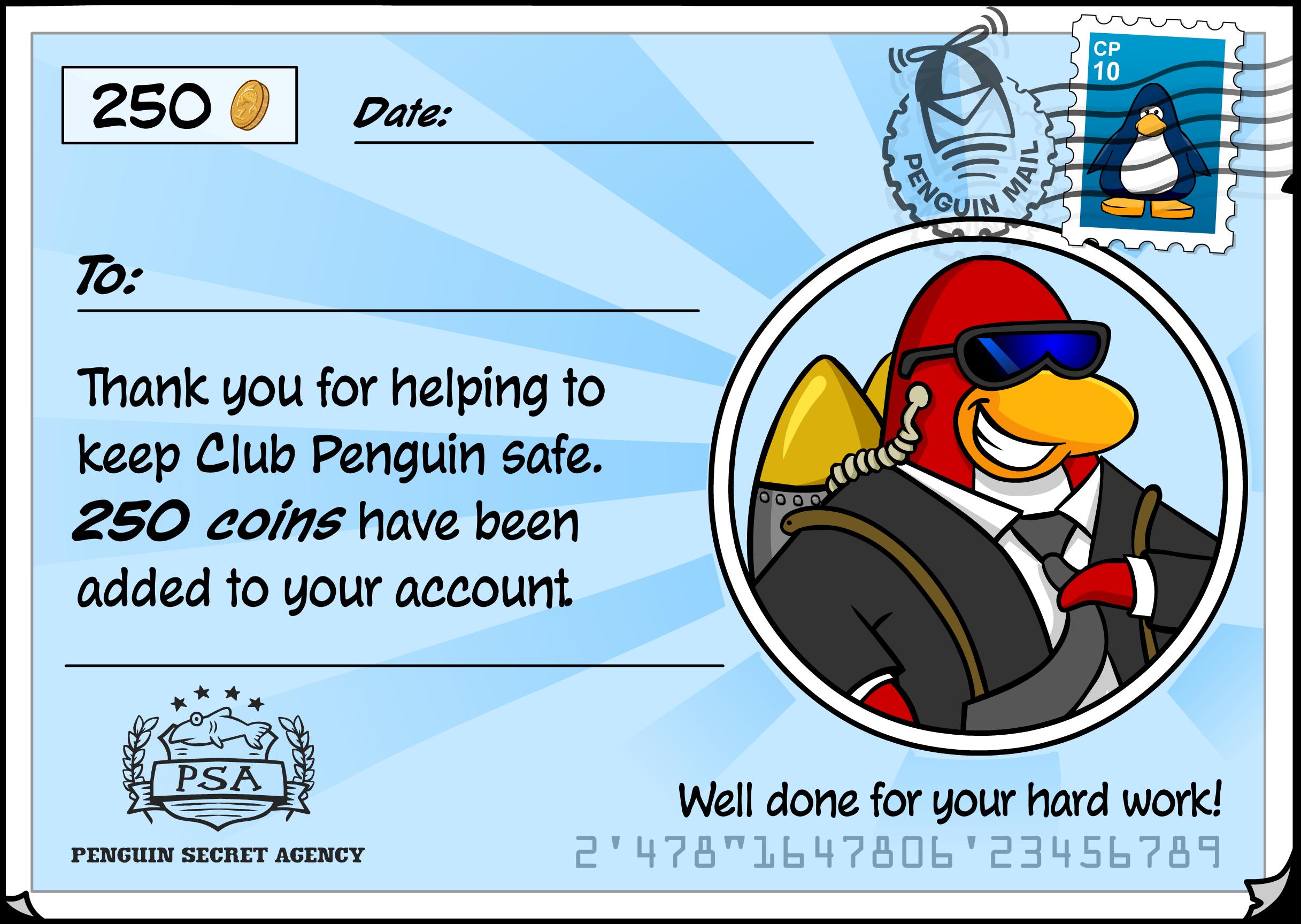 Jobs: Secret Agent Postcard