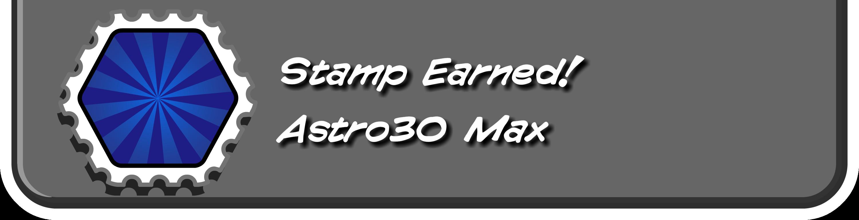 Astro30 Max Stamp