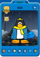 Oak Player Card - Mid April 2021 - Club Penguin Rewritten