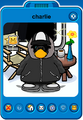 Charlie Player Card - Late April 2020 - Club Penguin Rewritten