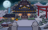 Halloween Party 2020 Dojo Courtyard
