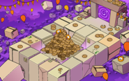 Puffle Party 2018 Box Dimension