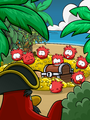 Rockhopper Island - Red Puffle Discovery
