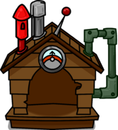 Brown Puffle House sprite 001