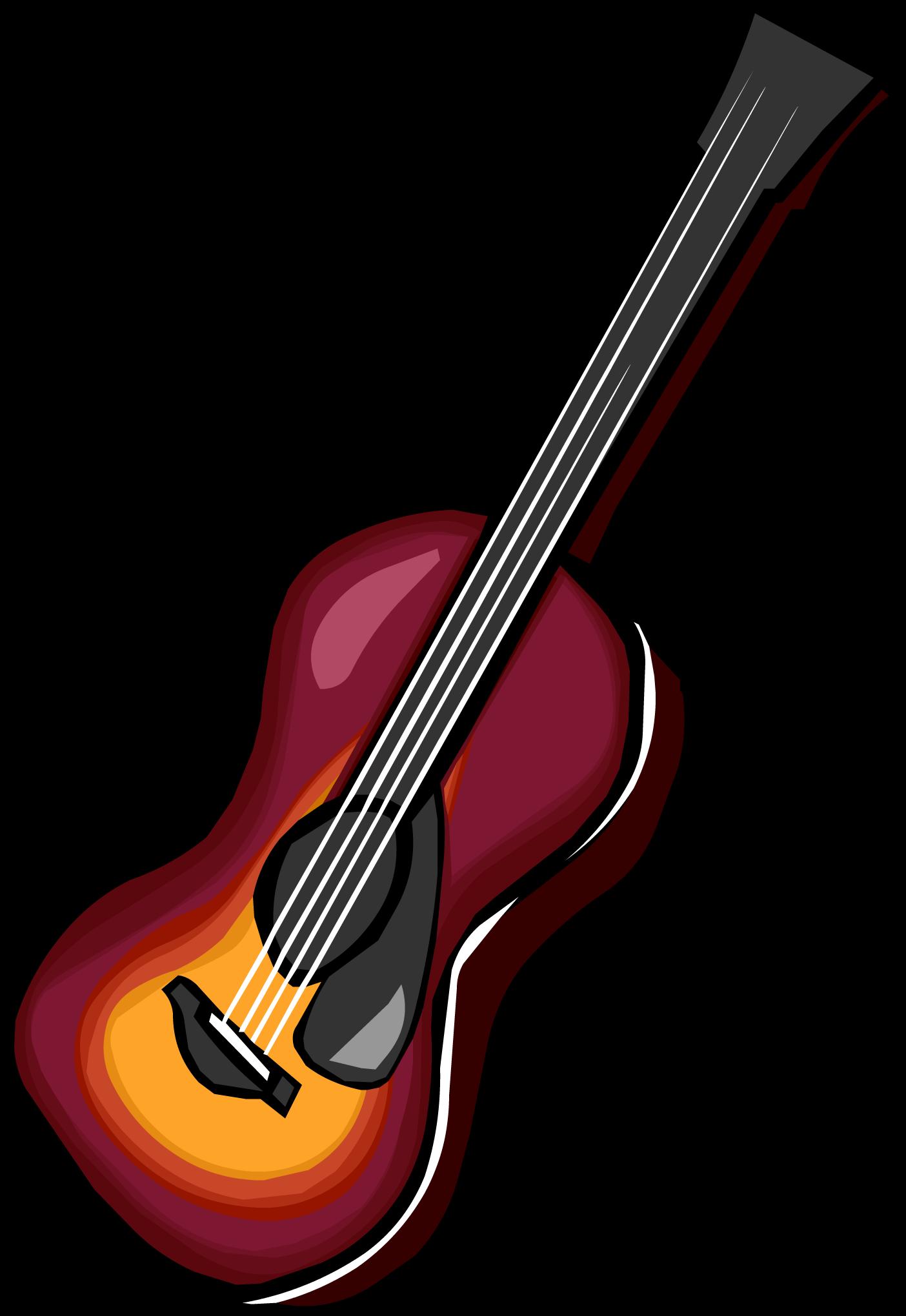 Acoustic Sunburst Guitar