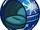 Blue Ornament Chair