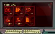 System Defender Level Select