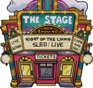 Night of the Living Sled Live - Exterior - The Fair 2020