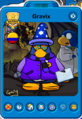 Gravix Player Card - Early August 2020 - Club Penguin Rewritten