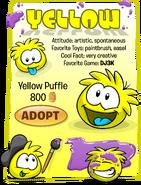 Yellow Puffle Adopt