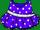 Purple Polka-dot Dress