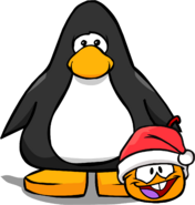 Holiday Party 2020 Orange Puffle PC