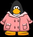 Pink Duffle Coat PC