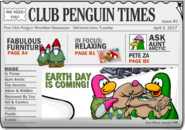 Club Penguin Times Issue 5