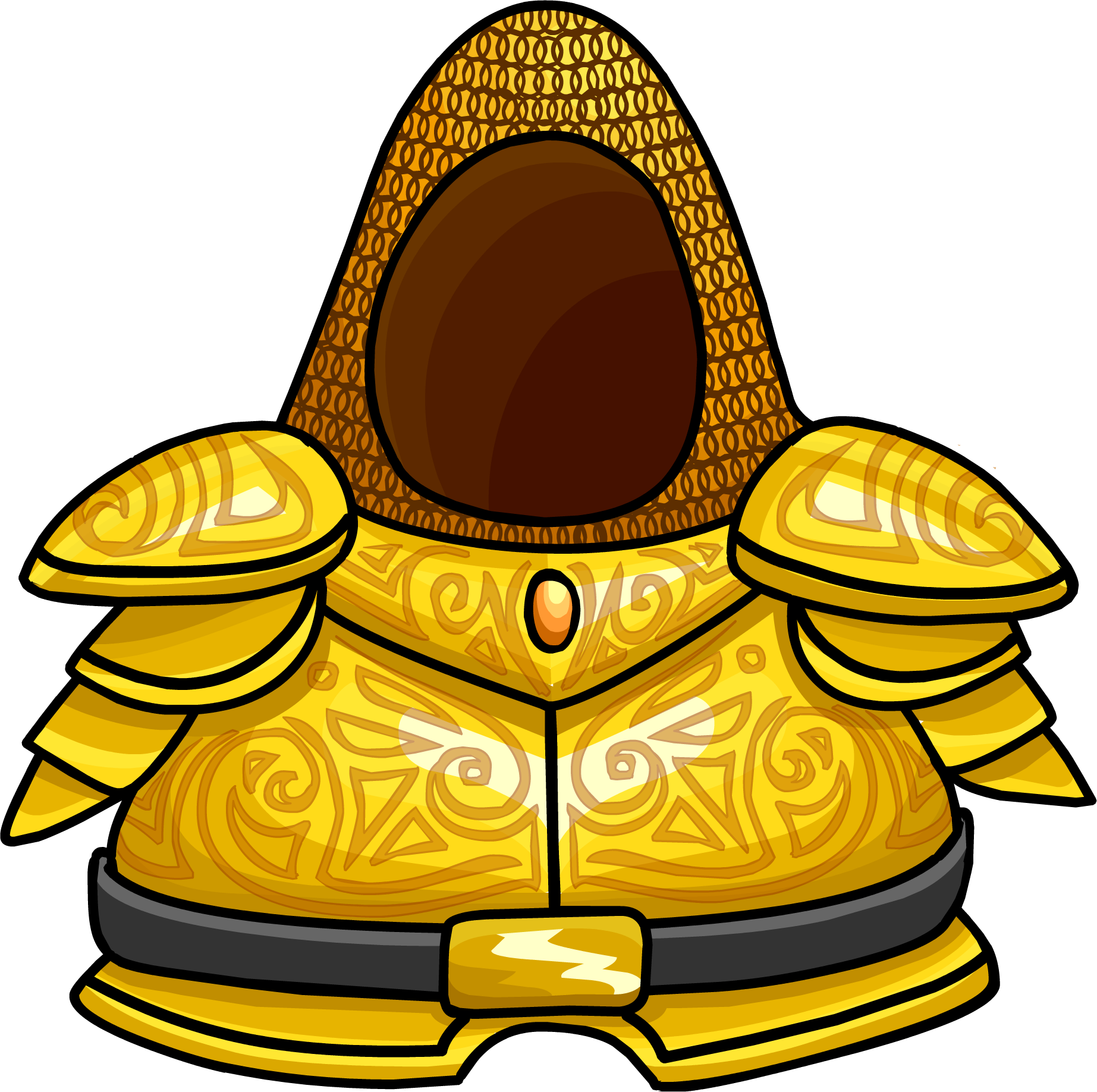 Golden Knight's Armor