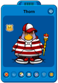 Thorn Player Card - Early June 2020 - Club Penguin Rewritten.png