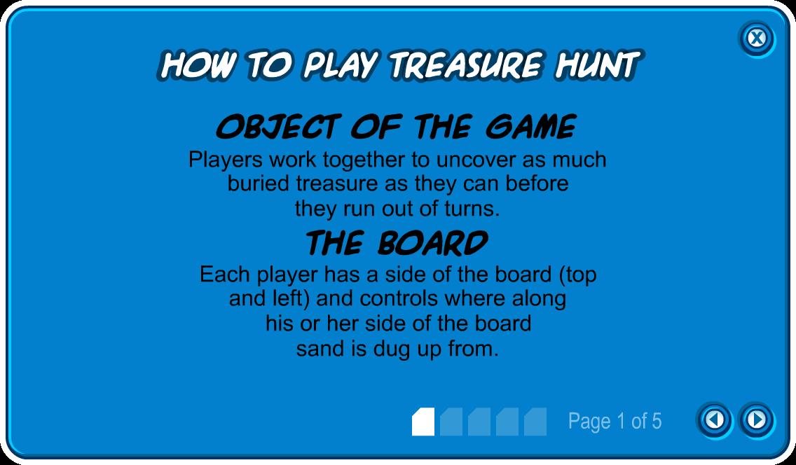 How to Play Treasure Hunt