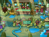 Brown Puffle Cave