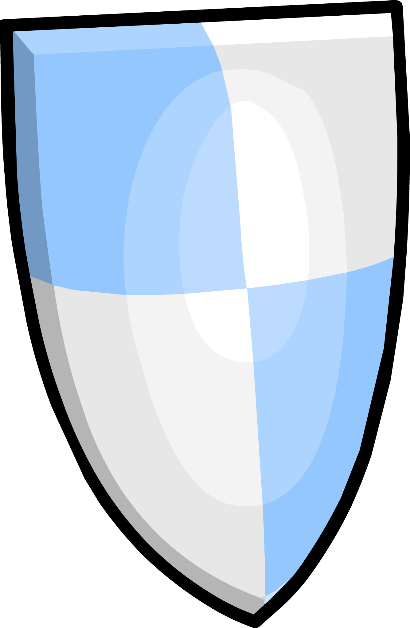 Blue Pastel Shield
