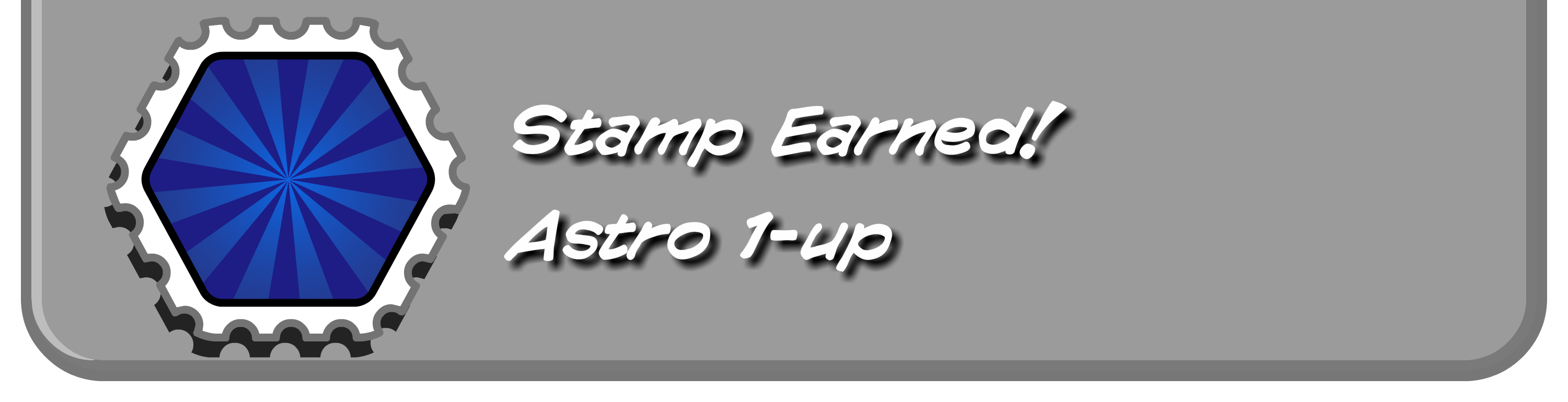 Astro 1-up Stamp