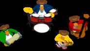 Penguin Band Music Jam