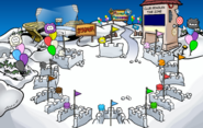 Puffle Party 2018 Snow Forts