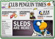 Club Penguin Times Issue 129