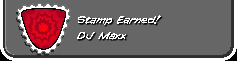 DJ Maxx Stamp