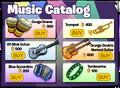 Backstage Music Catalog 2020