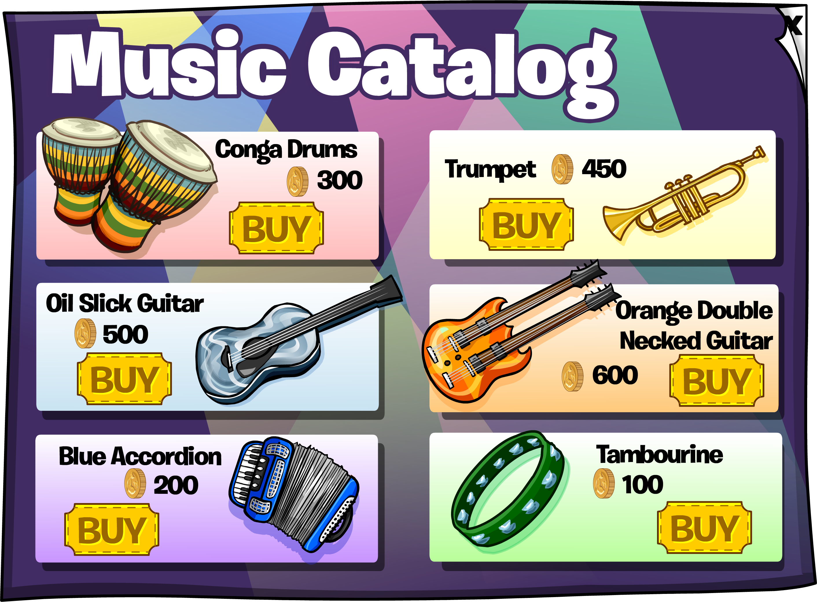 Backstage Music Catalog