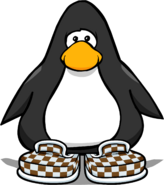 Brown Checkered Shoes PC