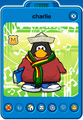 Charlie Player Card - Late March 2020 - Club Penguin Rewritten