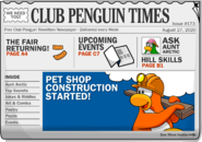Club Penguin Times Issue 173
