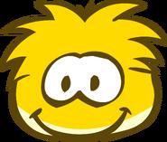Gold Puffle Brown Eyes