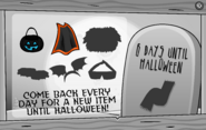 Halloween Party Interface Day 2