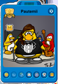 Pautemii Player Card - Mid February 2018 - Club Penguin Rewritten